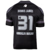 GW Athlete T-Shirt Dennis James Black/Gray
