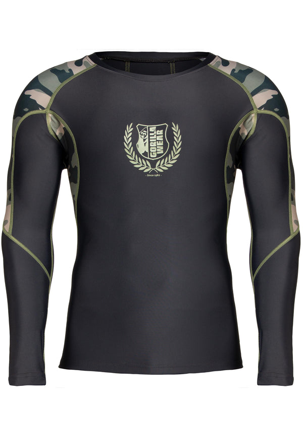 Lander Rashguard Long Sleeve - Army Green Camo
