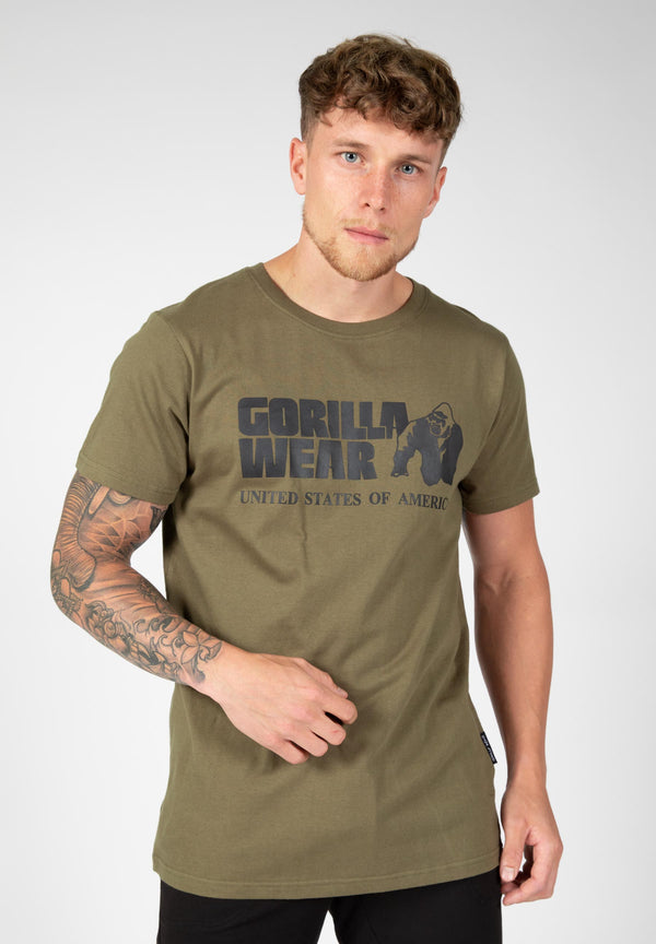 Classic T-shirt - Army Green