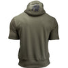 Boston Short Sleeve Hoodie - Army Green