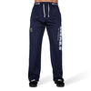 Logo Mesh Pants - Blue
