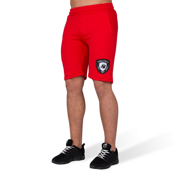 Los Angeles Sweat Shorts - Red