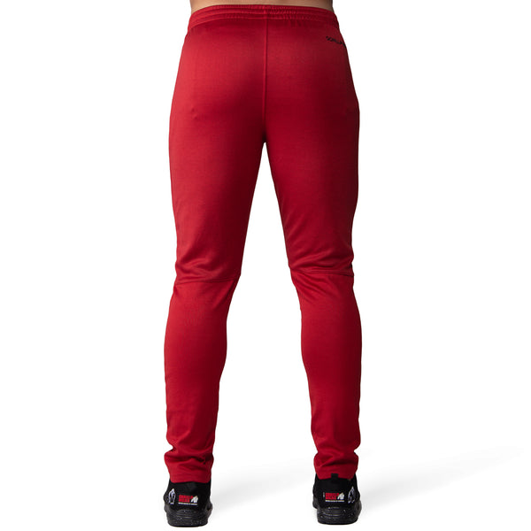 Ballinger Track Pants - Red/Black