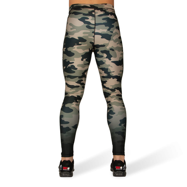 Franklin Men's Tights - Army Green Camo