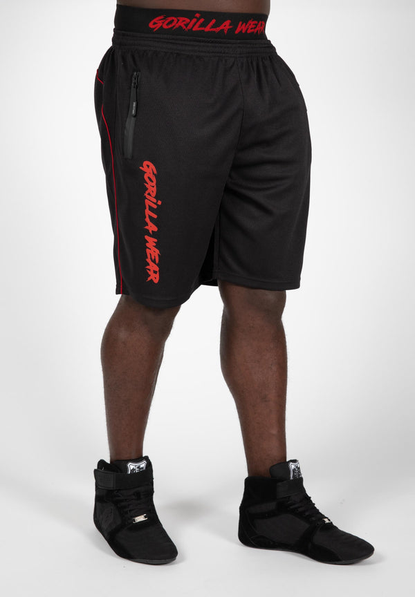 Mercury Mesh Shorts - Black/Red
