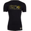 Luka T-shirt - Black/Gold