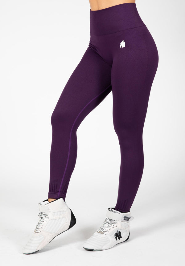 Neiro Seamless Leggings - Purple