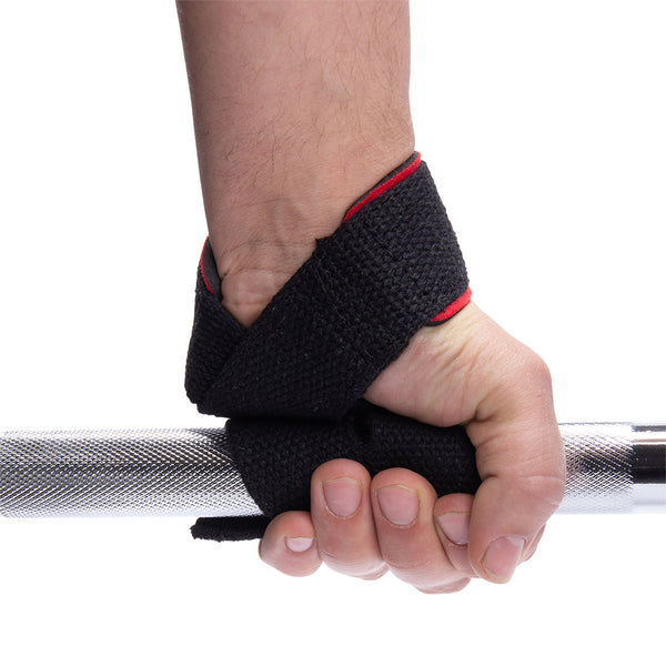 Padded Lifting Straps - Black