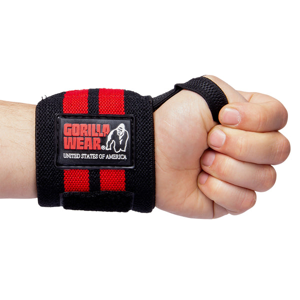 Wrist Wraps PRO - Black/Red