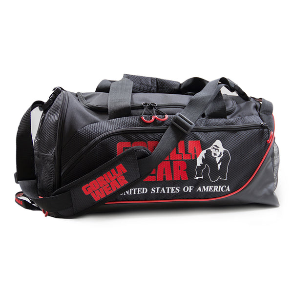 Jerome Gym Bag -  Black/Red