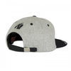 Soft Text Flat Brim Gray/Black