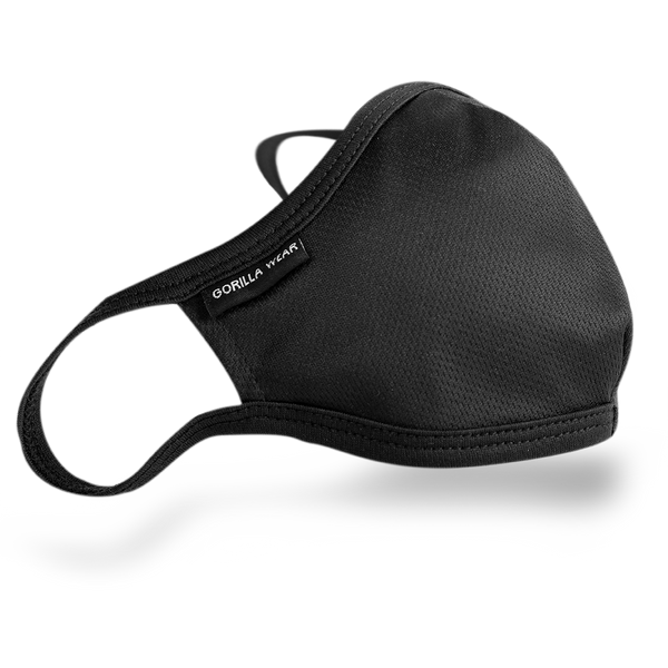 Gorilla Wear Face Mask - Black