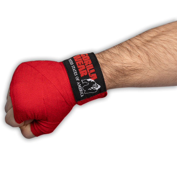 Boxing Hand Wraps - Red