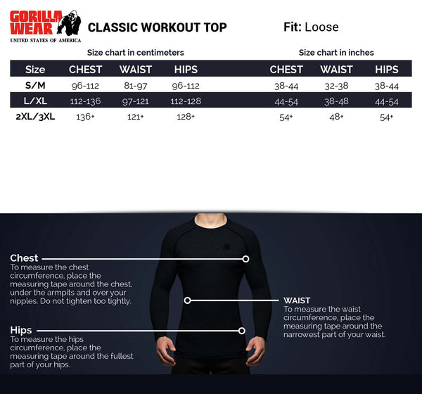 Classic Work Out Top - Navy