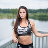 Phoenix Sports Bra - Black/White