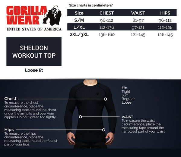 Sheldon Work Out Top - Gray
