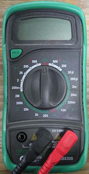 Digital Multi Meter out of package