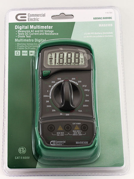 Digital Multi Meter in package