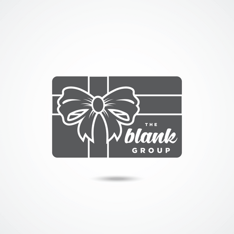 The Blank Group Gift Card
