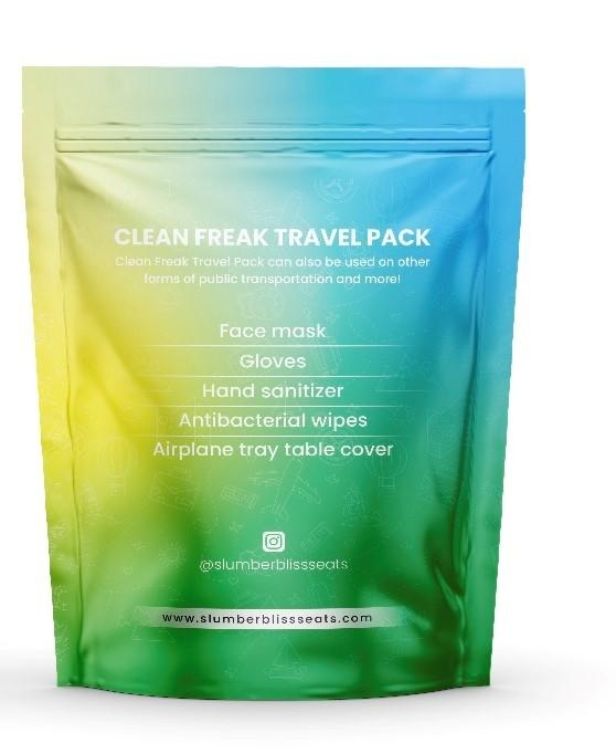 Clean Freak Travel Pack - Slumberblissseats