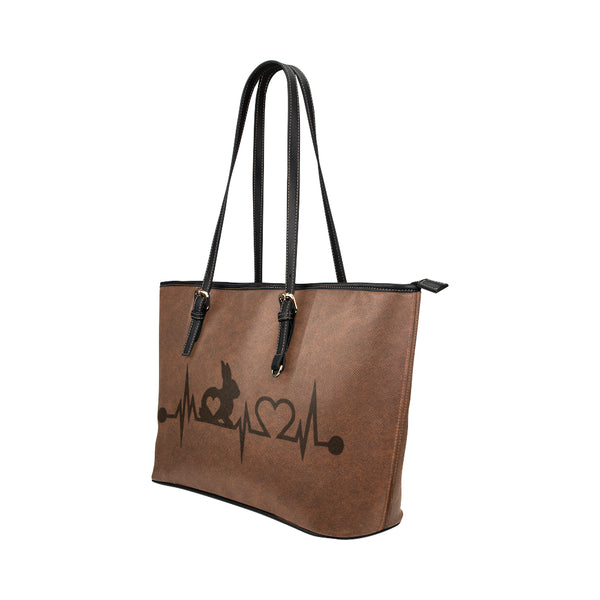 Bunny - Leather Tote for Ladies