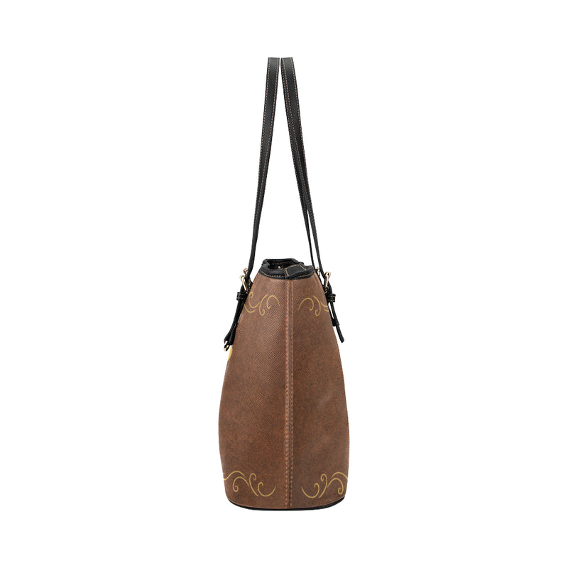 Butterfly - Leather Tote for Ladies