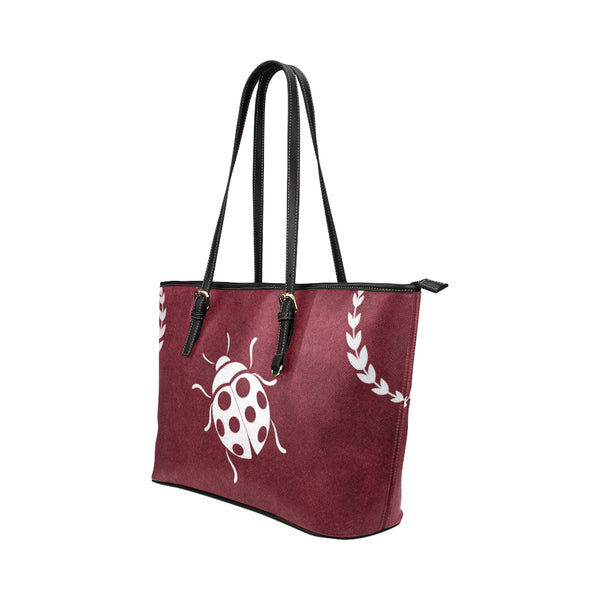 Ladybug - Leather Tote for Ladies