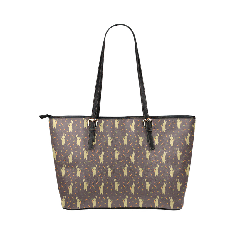 Bunny & Carrot - Leather Tote for Ladies