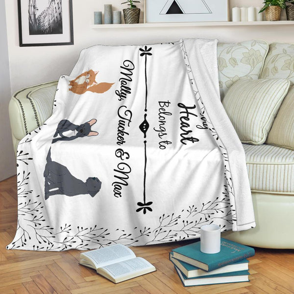Personalized Premium Blanket (Illustrated Collection)