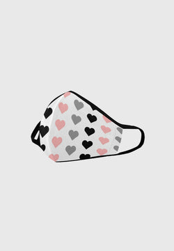 Hearts - Designer Face Mask 😷