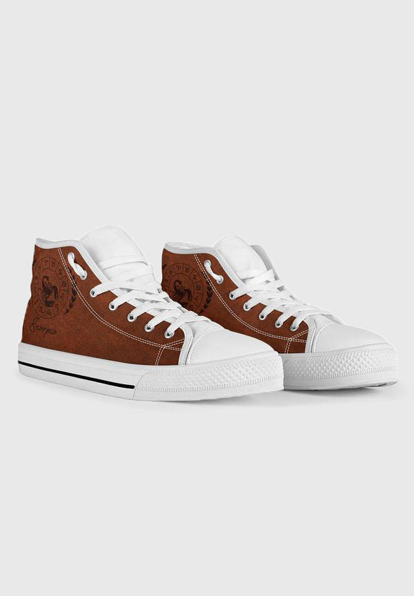 Scorpio - White High Tops for Women