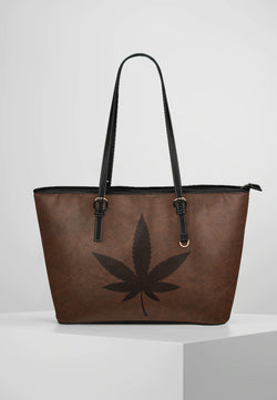 Weed - Leather Tote for Ladies
