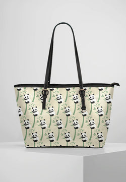 Panda - Leather Tote for Ladies
