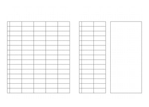 Open image in slideshow, Weekly Planner Printable on a dotted page and blank headers
