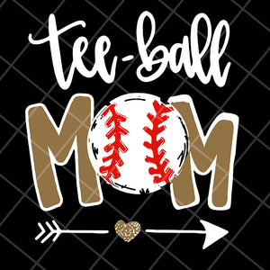 Tee ball mom svg, Mother's day svg, eps, png, dxf digital file MTD15042116