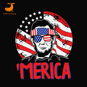 lin Merica svg, png, dxf, eps, digital file