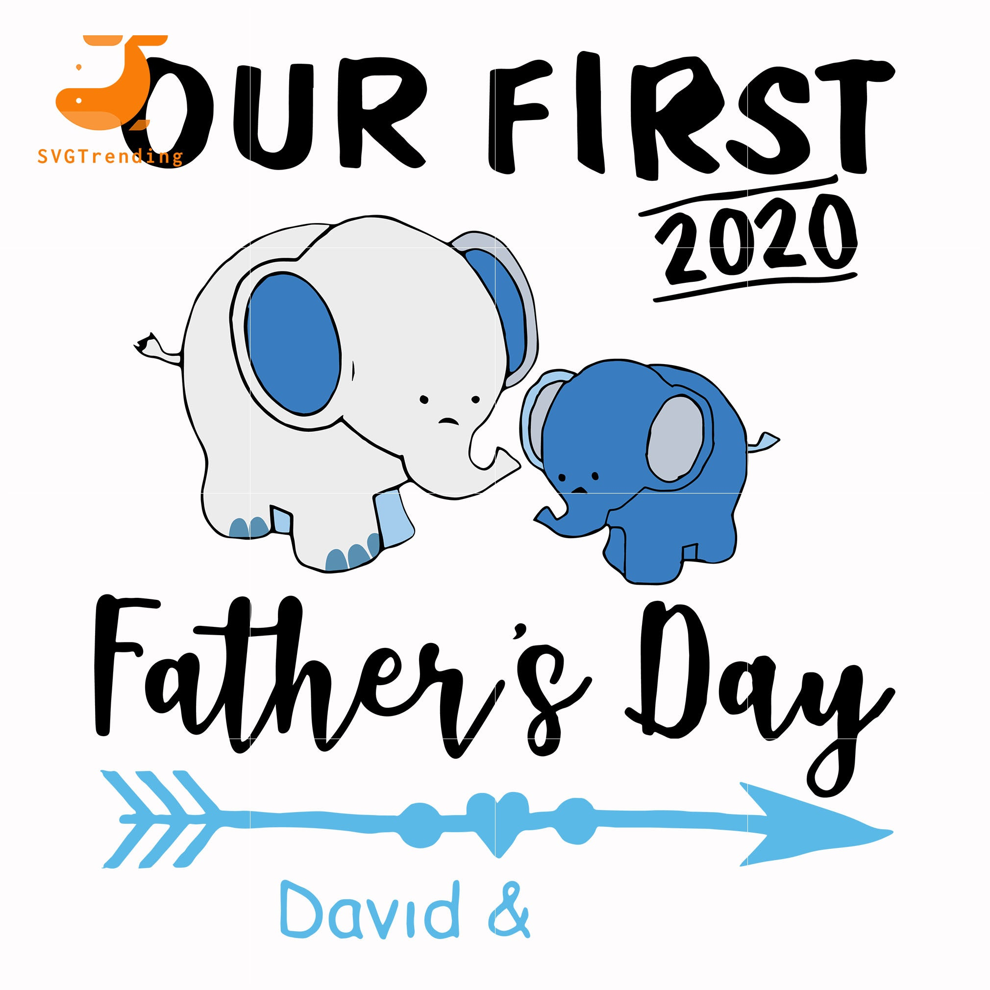 Free In catholic countries of europe. Our First Father Day Svg Png Dxf Eps Digital File Ftd141 Svgtrending SVG, PNG, EPS, DXF File