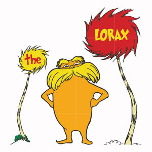 Lorax svg, thing one thing two, dr seuss svg, dr seuss quotes, digital file