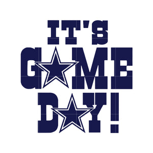 Cowboys it's game day svg, dallas cowboys svg, cowboys svg for cut