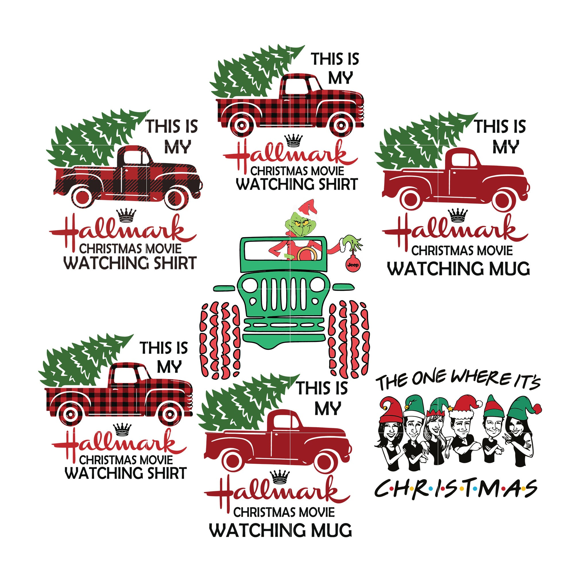 Hallmark christmas movie watching search svg, hallmark svg png dxf eps digital file