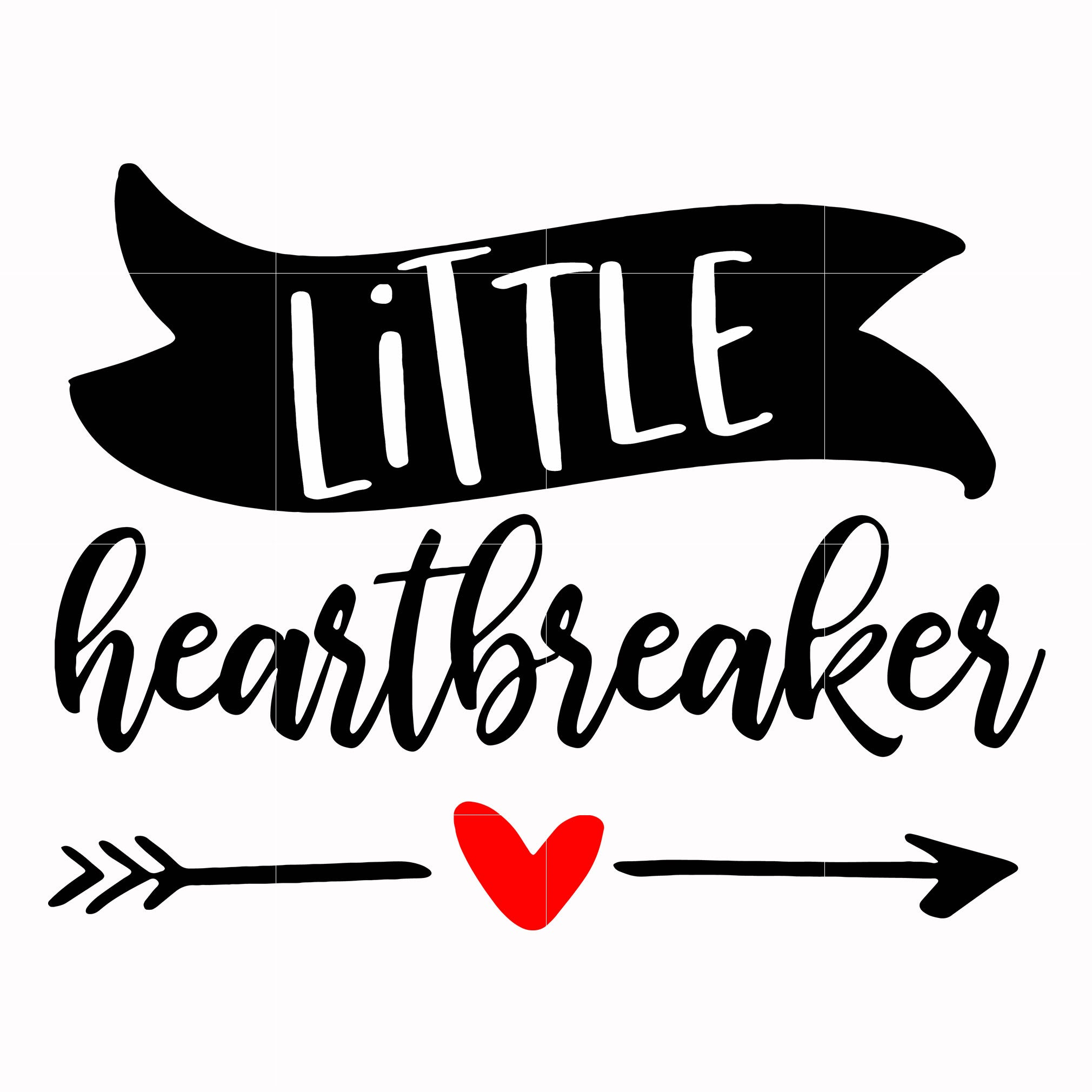 Little heart breaker svg, Love Svg, Valentine Day Svg, valentine's day, unicorn svg ,dxf, eps, png digital file