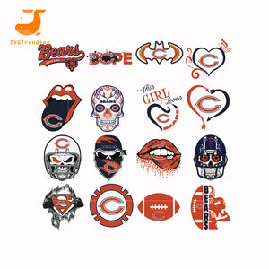 Chicago bear Svg, NCAA Svg, NFL Svg, Baseball Svg logo,ncaa svg,png,dxf,ncaa logo svg, png, dxf,football university svg,png