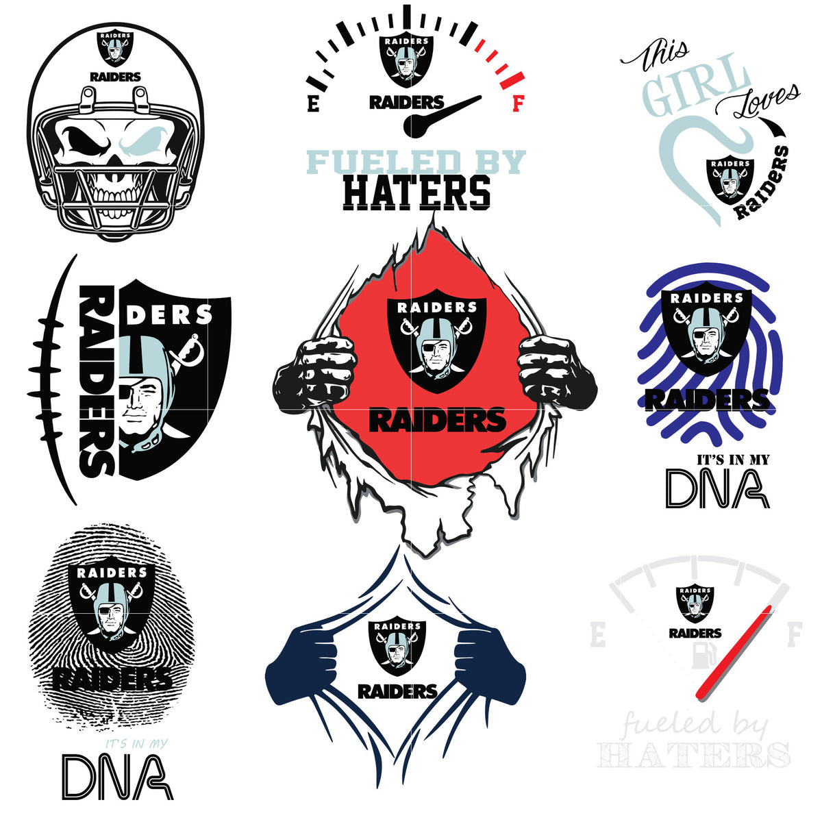 Oakland Raiders Svg Oakland Raiders Svg Files For Cricut Oakland Raide Svgtrending