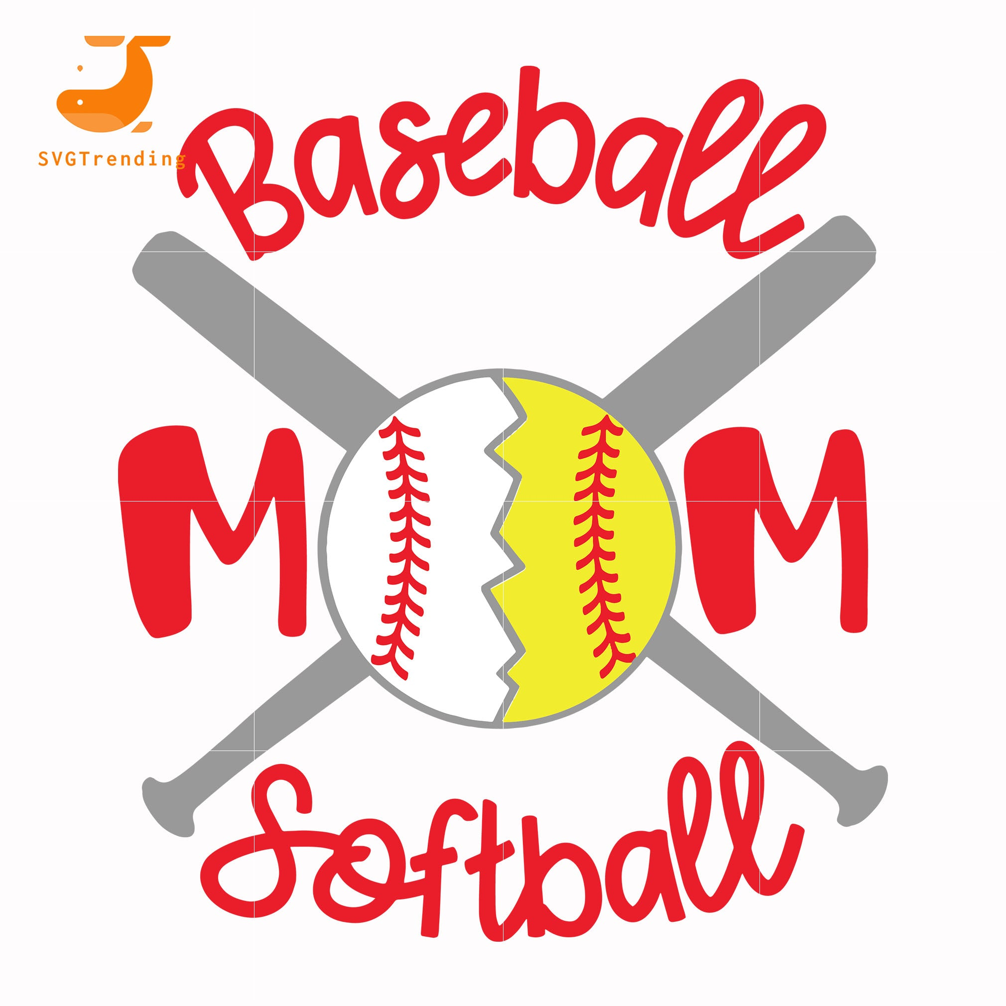 Baseball mom softball svg, baseball mom svg, mother day svg, dxf, eps, png digital file