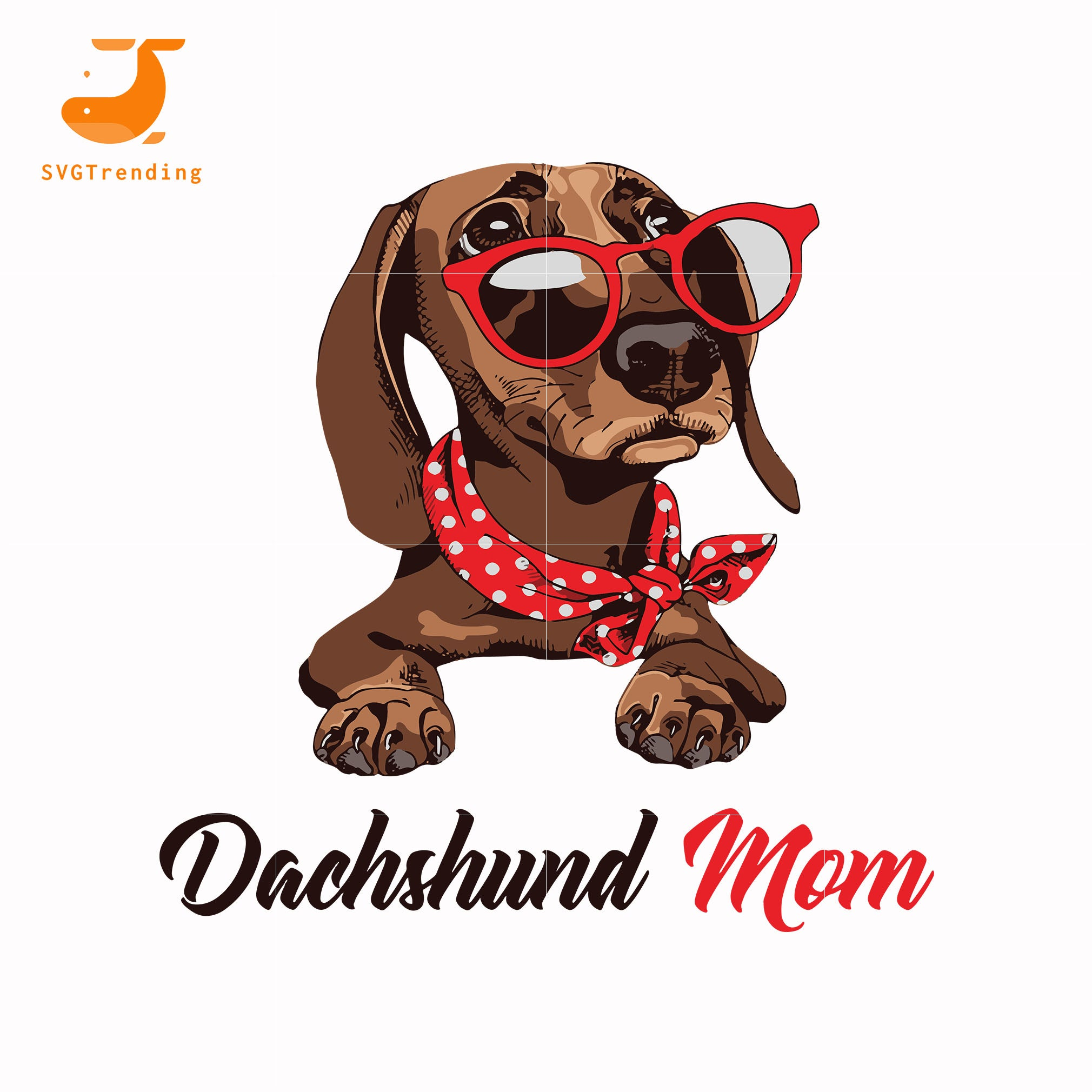 Dachshund mom svg, mother day svg, dxf, eps, png digital file