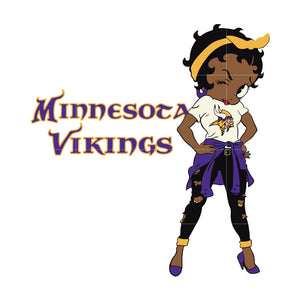 Betty boop Minnesota Vikings, Minnesota Vikings svg, png, dxf, eps. INSTANT DOWNLOAD
