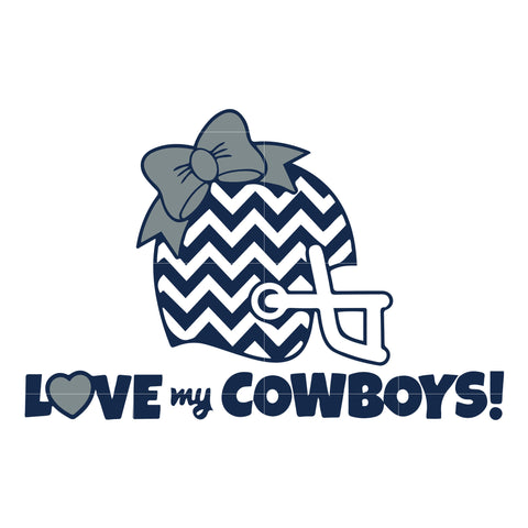 Love my cowboys svg, dallas cowboys svg, cowboys svg for cut