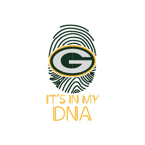 Packers it's in DNA svg, packers svg for cut