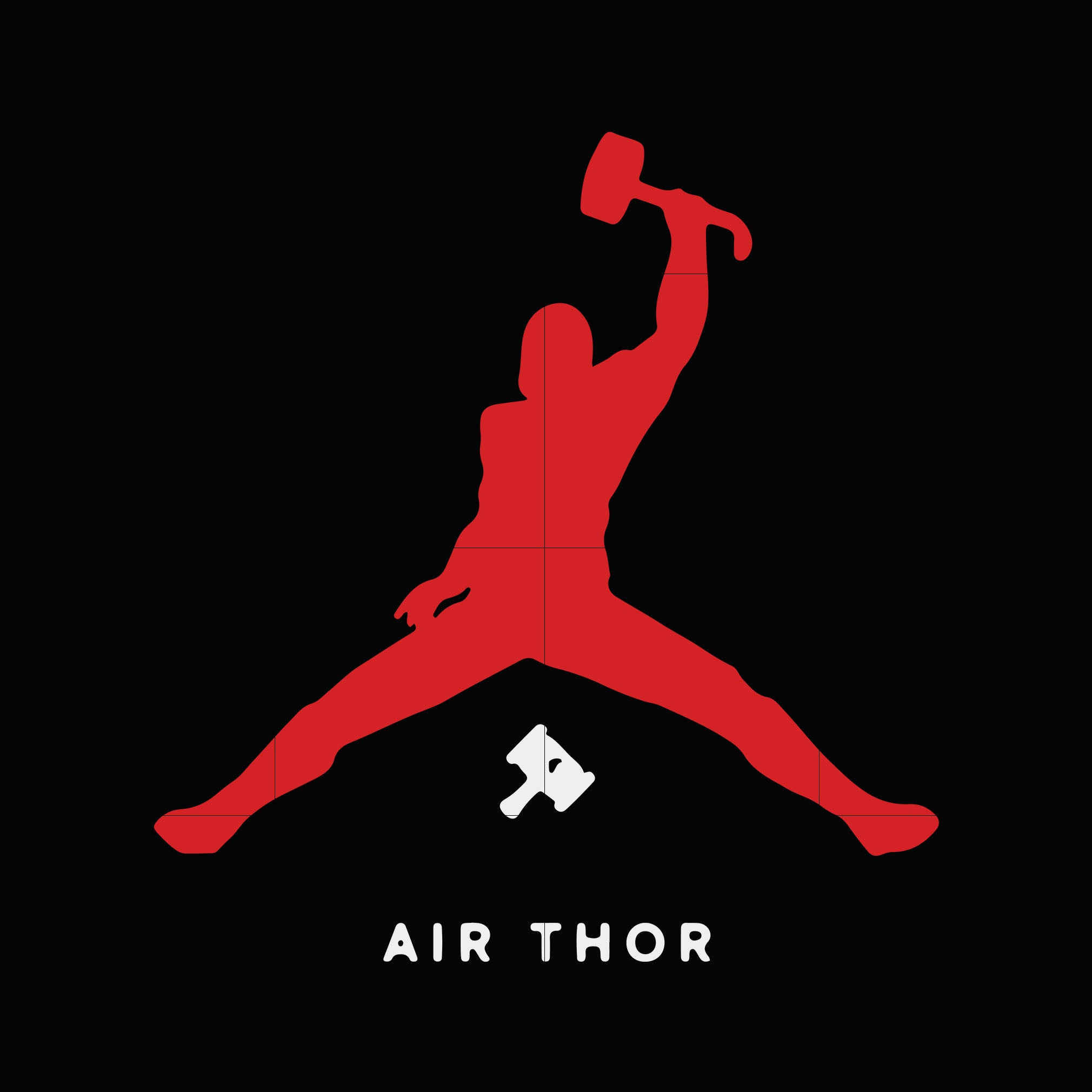 Air thor svg ,dxf,eps,png digital file