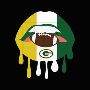 Packers lip svg, packers svg for cut